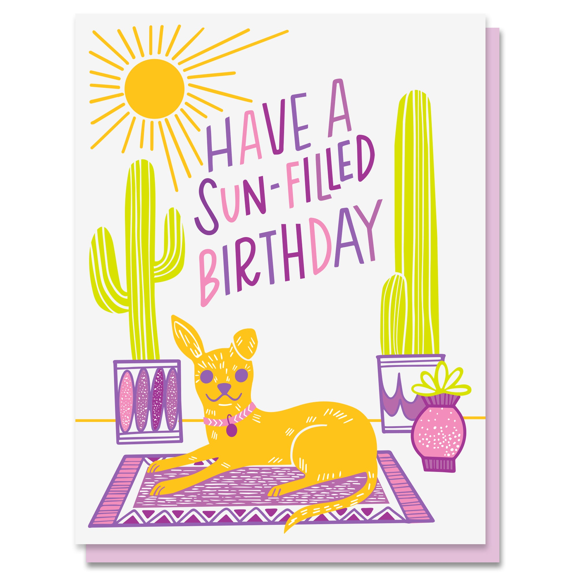 Sun-Filled Birthday Card