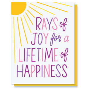 Rays of Joy Card