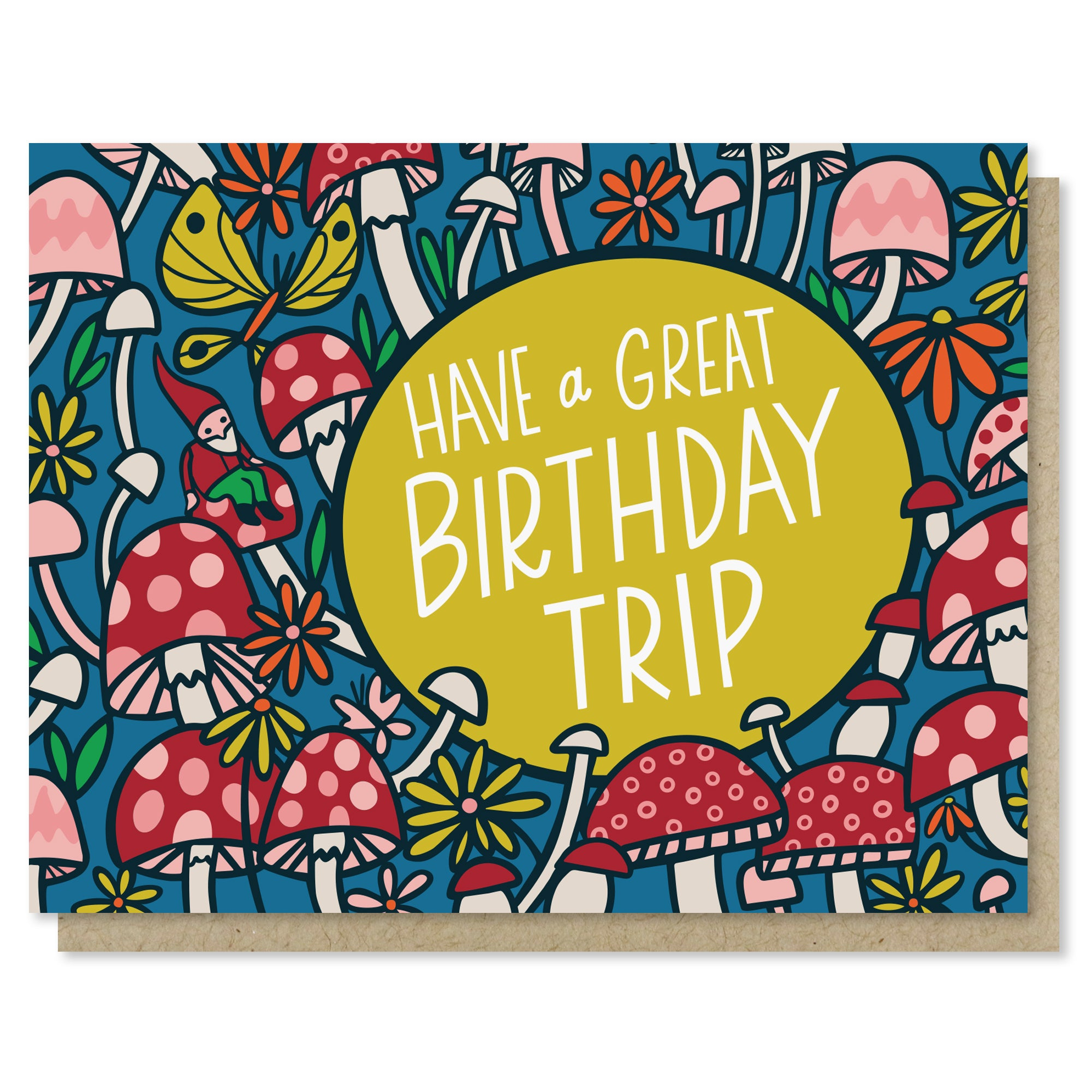 Birthday Trip Card