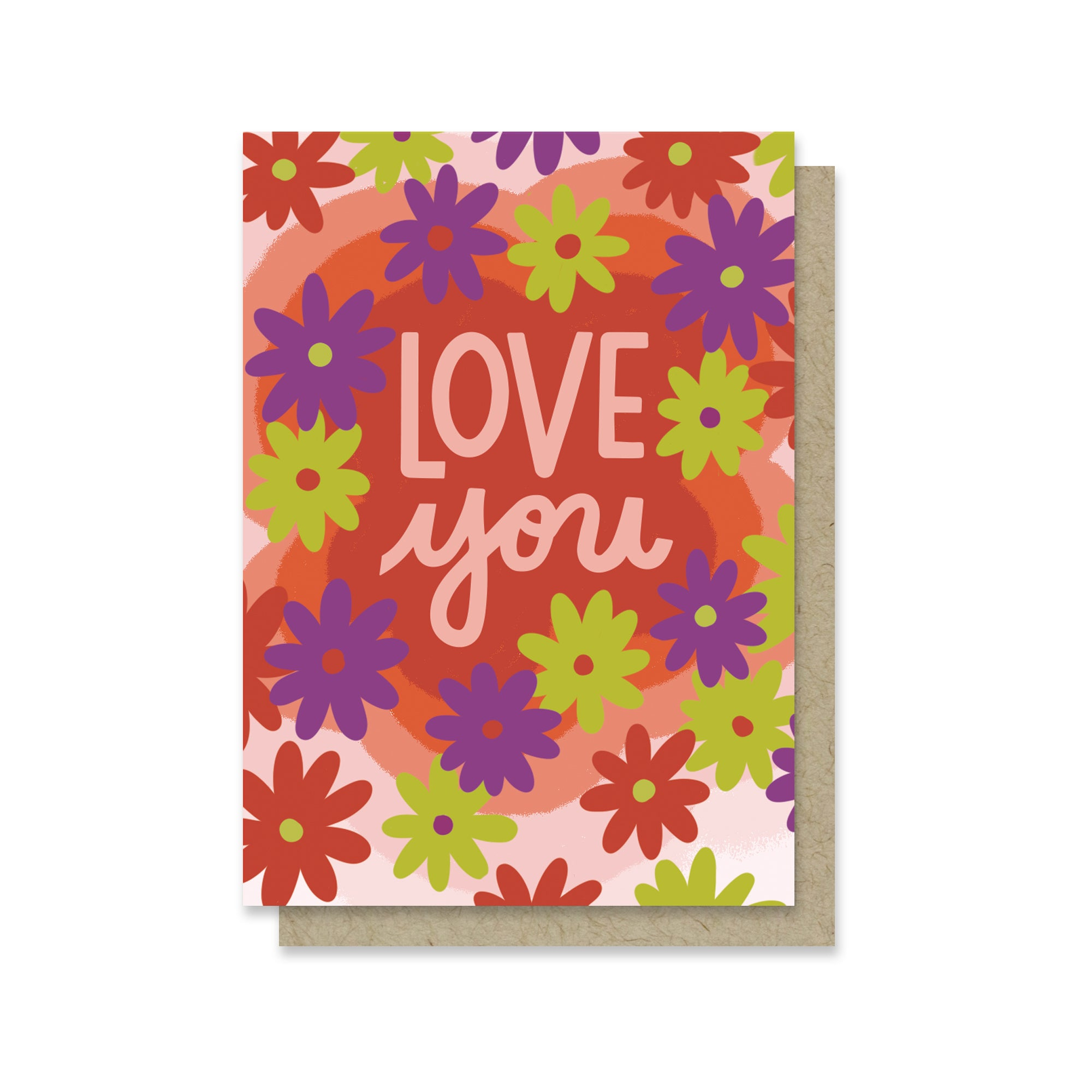Love Floral Vibes Mini Card