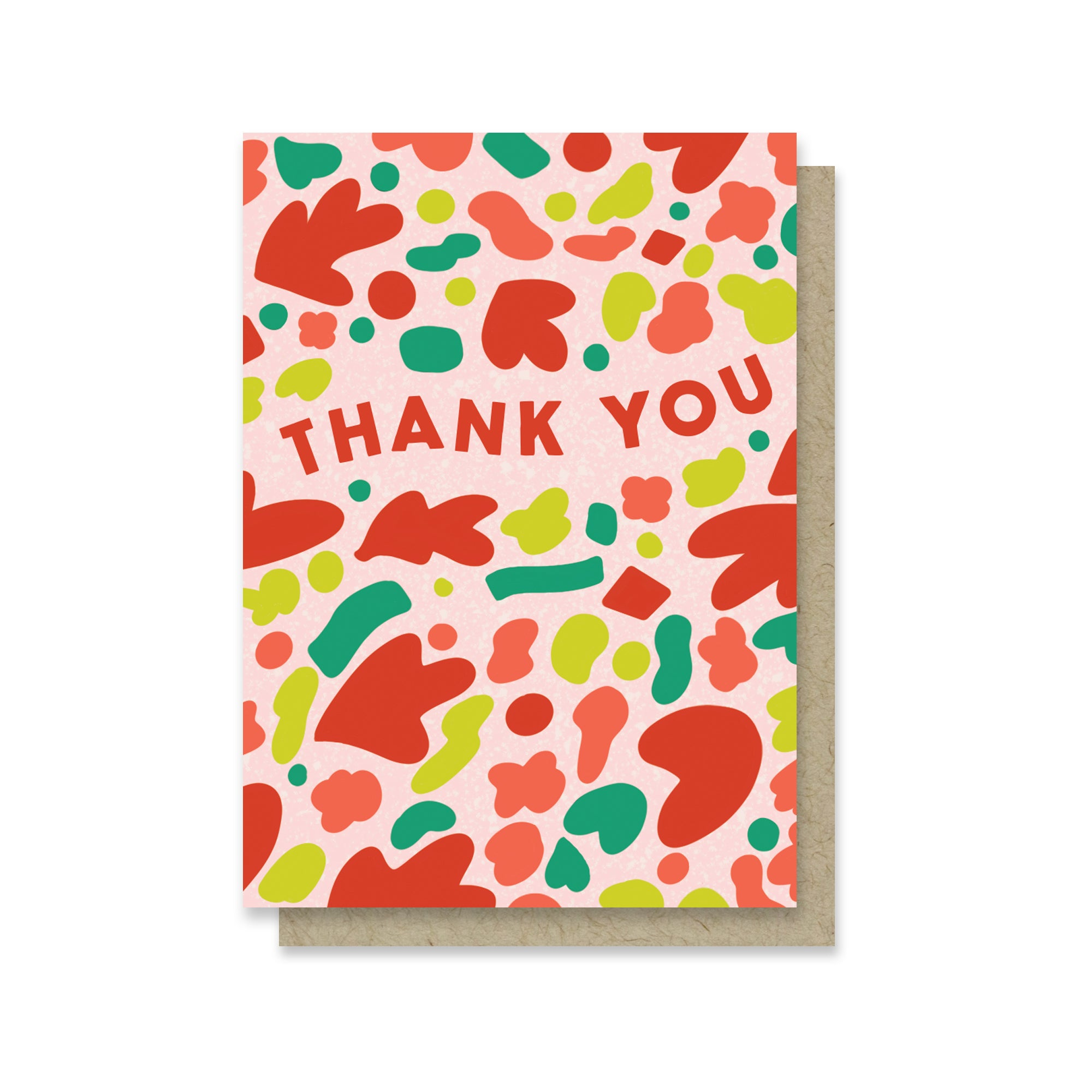Thank You Shapes Mini Card