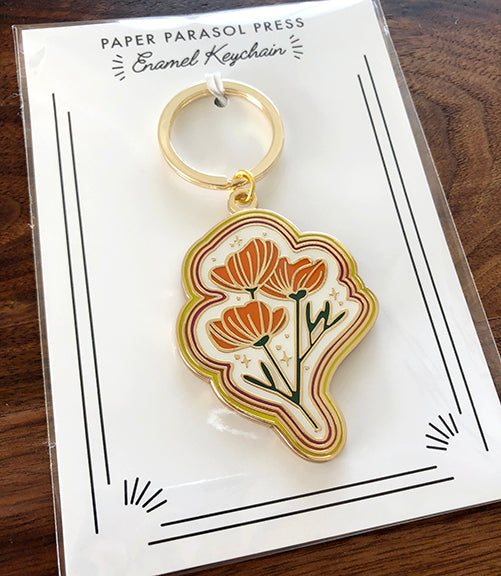 SECONDS - Poppy Magic Keychain