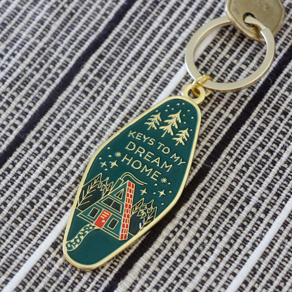 Dream Home Keychain
