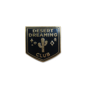 SECONDS - Desert Dreaming Club Lapel Pin