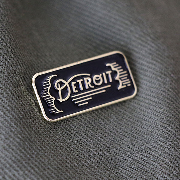 Detroit Lapel Pin