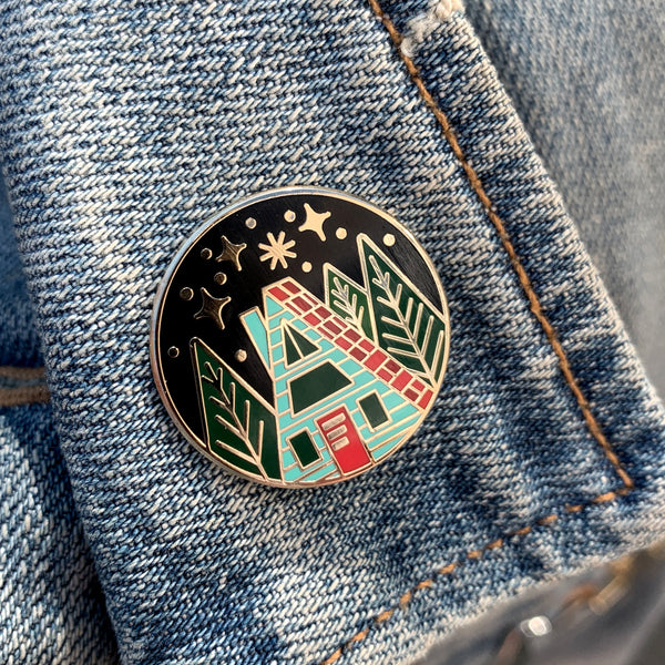 Copy of A-Frame Lapel Pin  - SECONDS