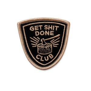 Get Shit Done Iron-on Patch - SALE