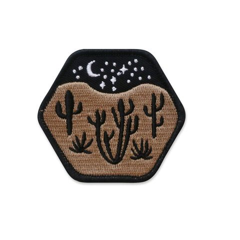 Desert Landscape Iron-on Patch - SALE