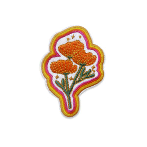Poppy Magic Iron-on Patch