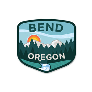 Bend Oregon Sticker