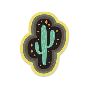 Cactus Magic Sticker