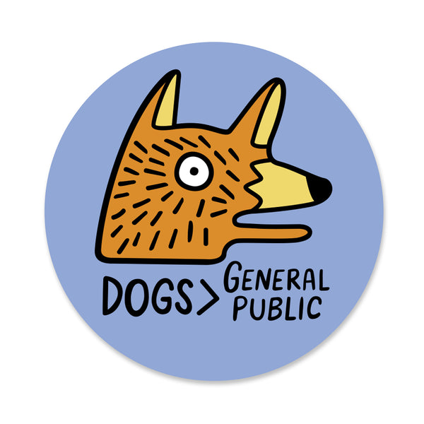 Dogs > General Public Sticker