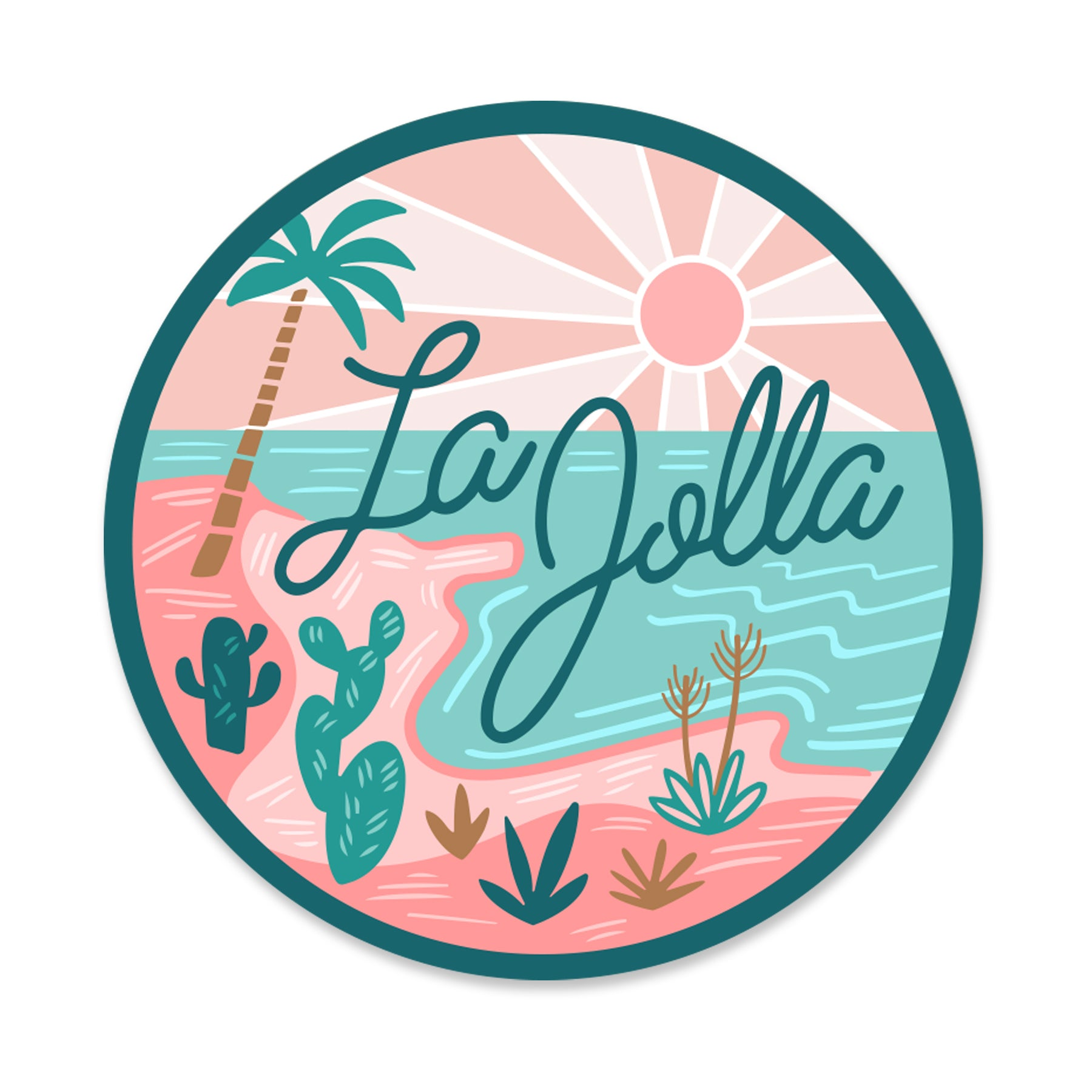 La Jolla Sticker