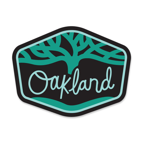 Oakland Sticker