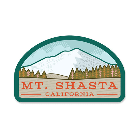 Mt. Shasta Sticker