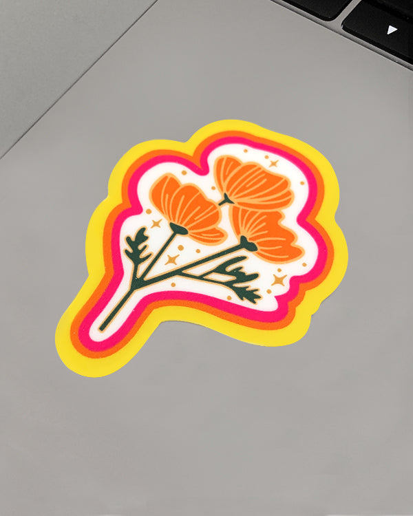Poppy Magic Sticker