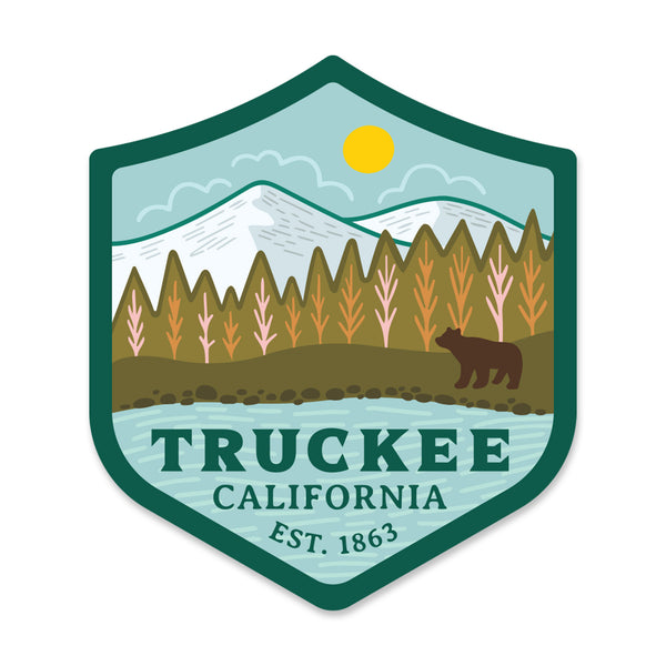 Truckee Sticker