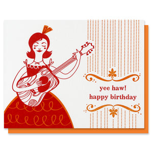 Yee Haw Birthday Card - SALE