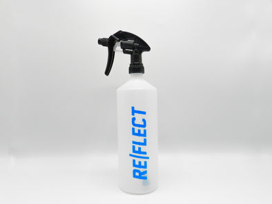 1 litre mixer pro bottle with blue logo on a white background