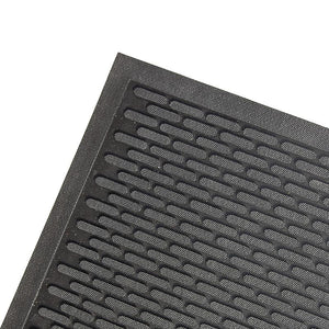 Cleated Rubber Entrance Mats