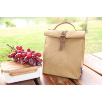 Waterproof KraftPaper Lunch Box Bag - Shop to Stop Plastic