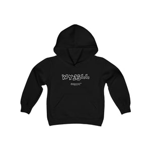 Kids Hoodie WY1SLL (White Lettering)