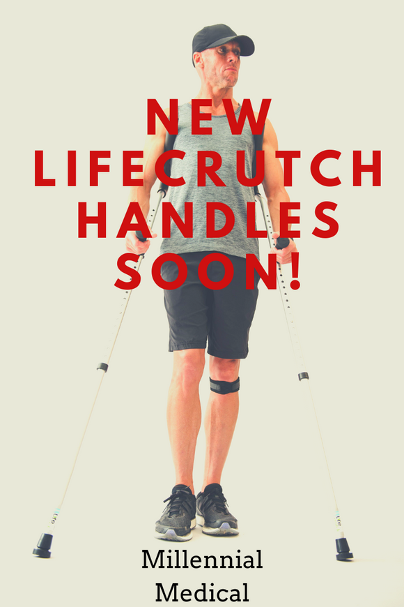 Upgraded LifeCrutch Handles Coming Soon!