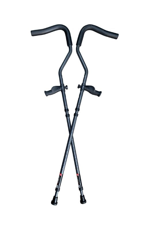 In-Motion Pro Underarm Crutch Set | Best Crutches On The Market