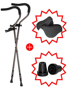in-Motion Pro Underarm Master Pack Bundle - Underarm Crutch Bundle
