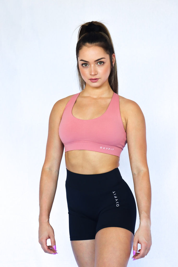 Oxyfit Optics Sports Bra - Dusty Rose