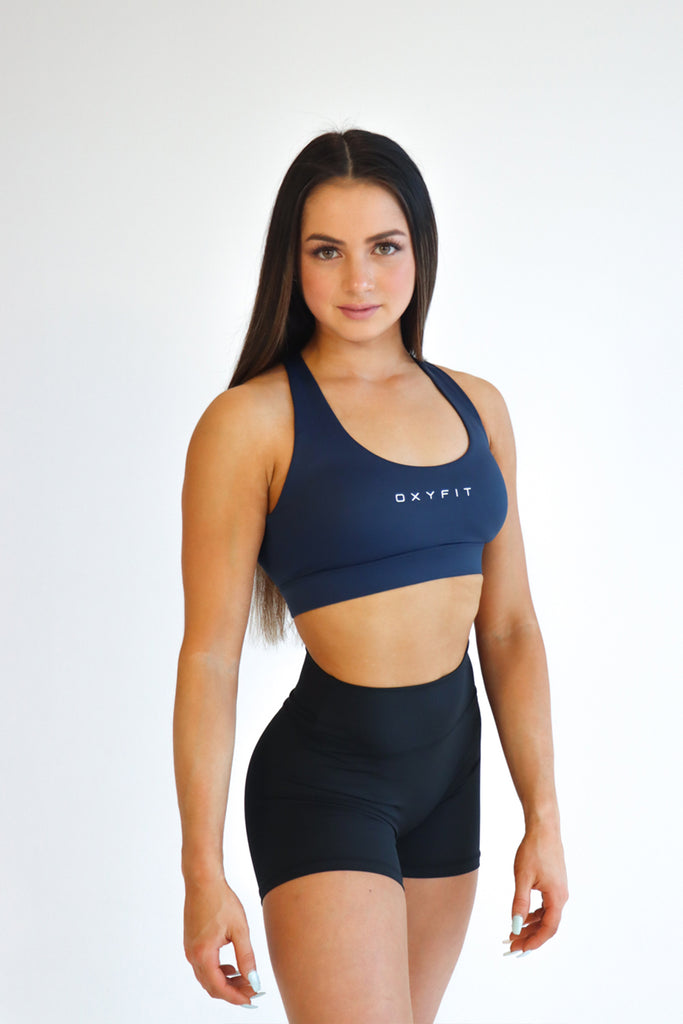 Oxyfit Optics Sports Bra - Blue