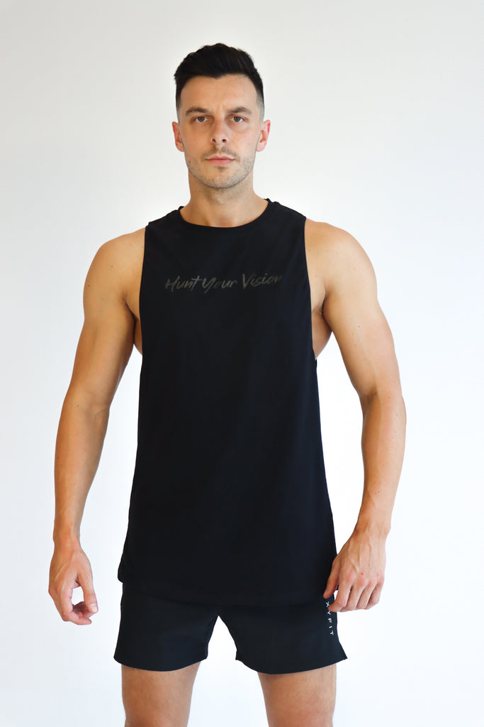Mens Mercenary Tank - Hunt Your Vision