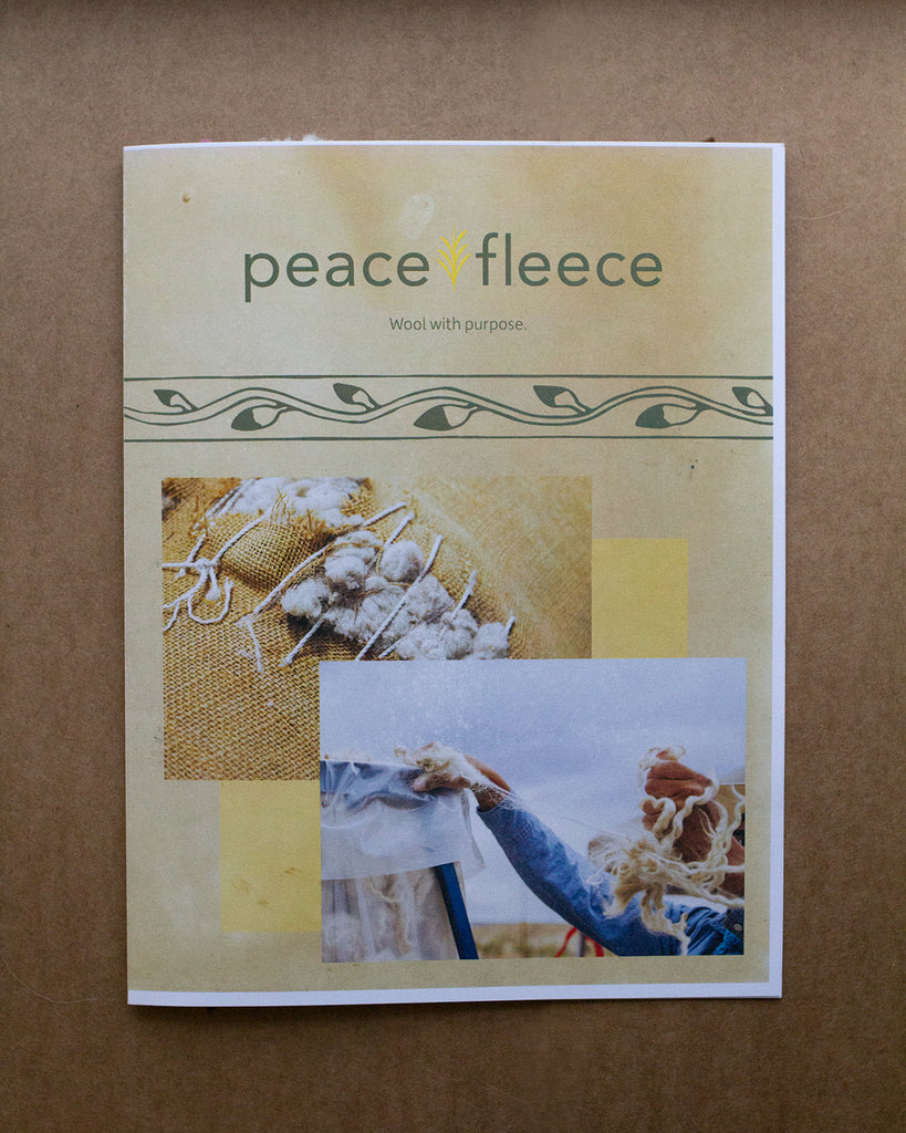 Peace Fleece Color Card