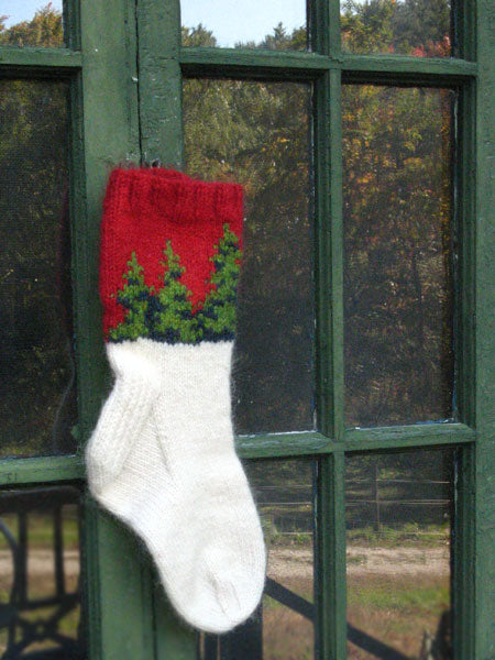Holiday Forest Sock Pattern