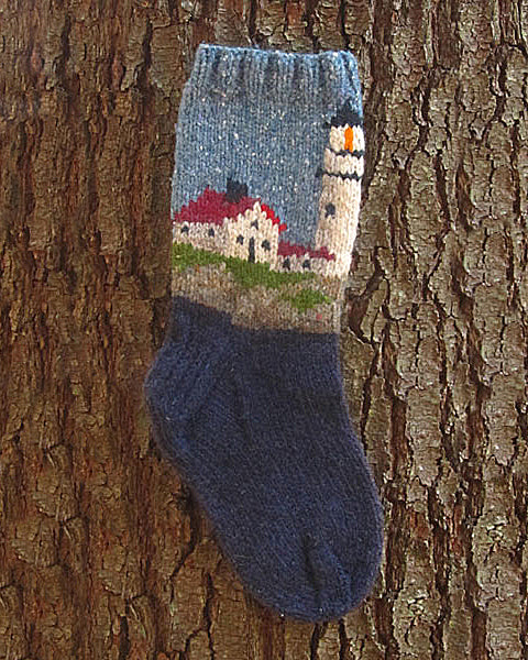 Lighthouse Sock Pattern