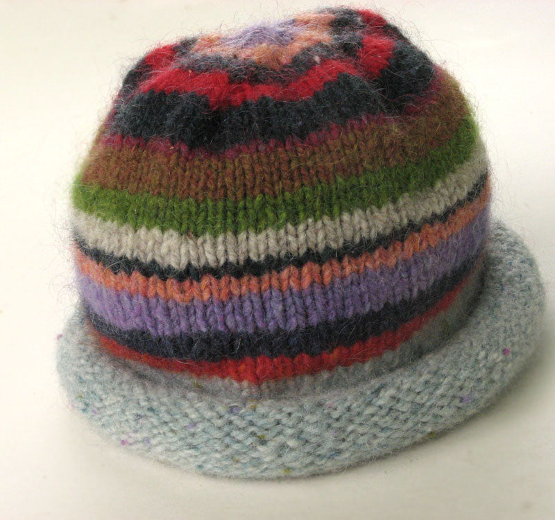 Tribal Mountain Hat Pattern