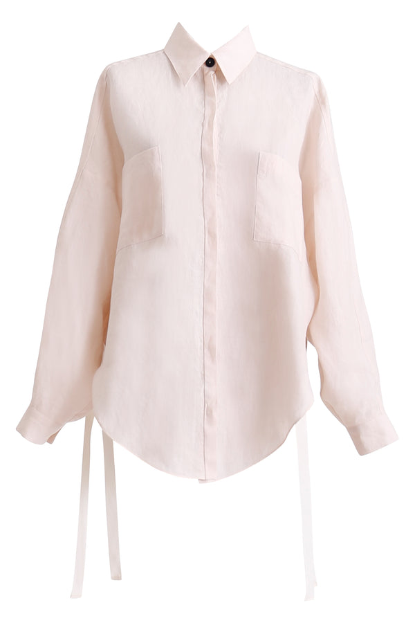 GINGER AND SMART AMOUR LINEN SUMMER SHIRT