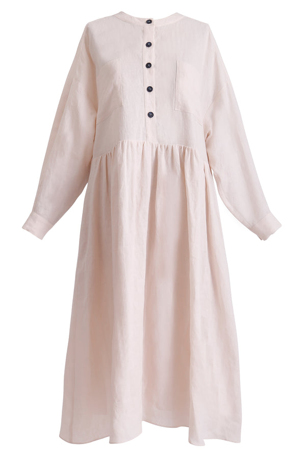 GINGER AND SMART AMOUR LINEN SUMMER SHIRT DRESS