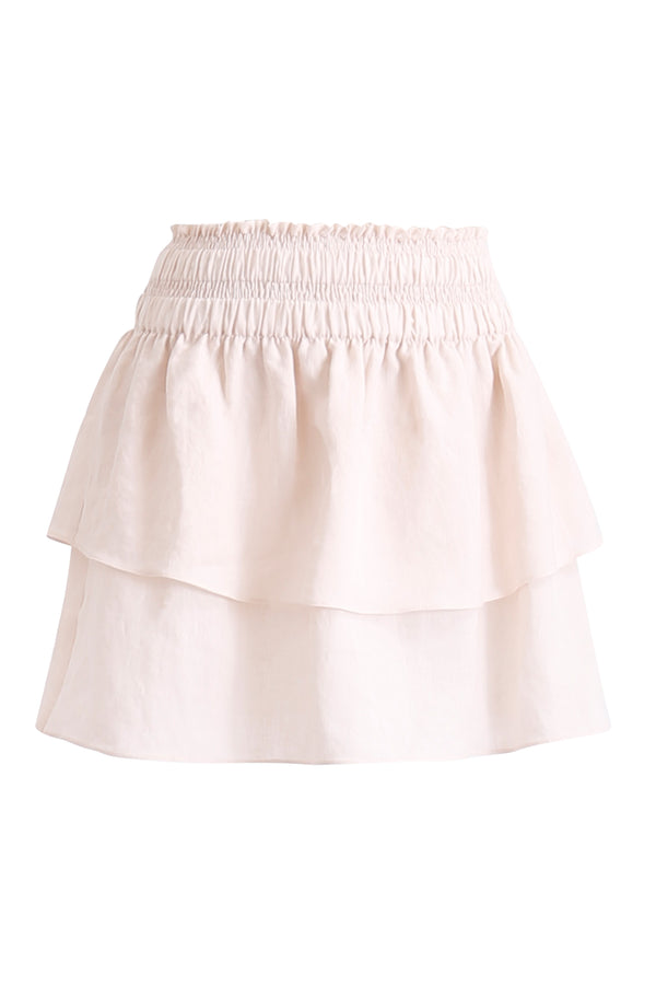 GINGER AND SMART AMOUR LINEN SUMMER SKIRT