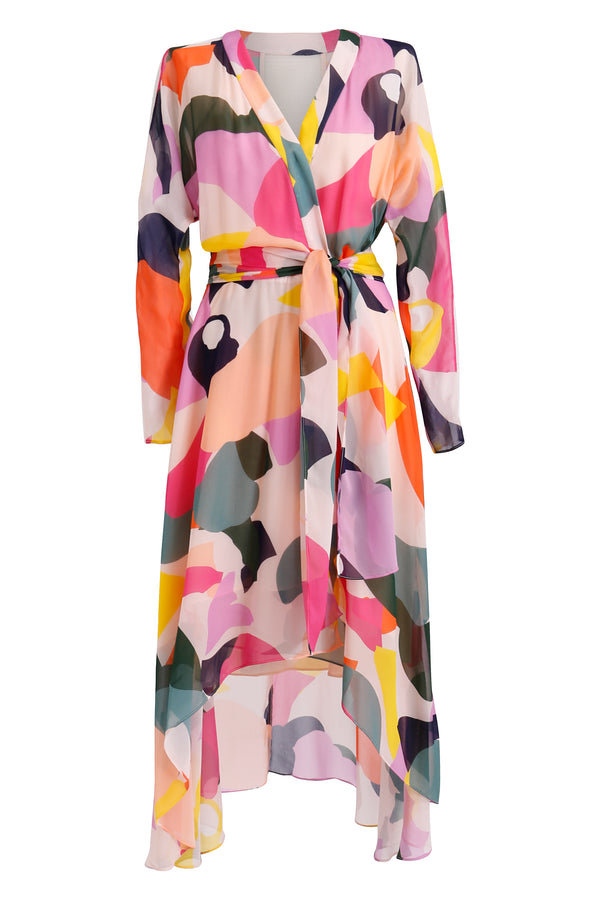 Chroma Wrap Dress