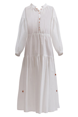 GINER AND SMART CONGRUITY DRESS WITH SLEEVE