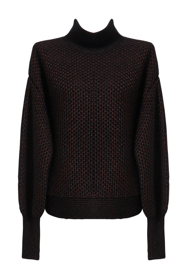 Dawn Funnel Neck Knit