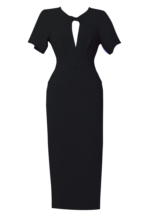 Advocate Fitted Dress