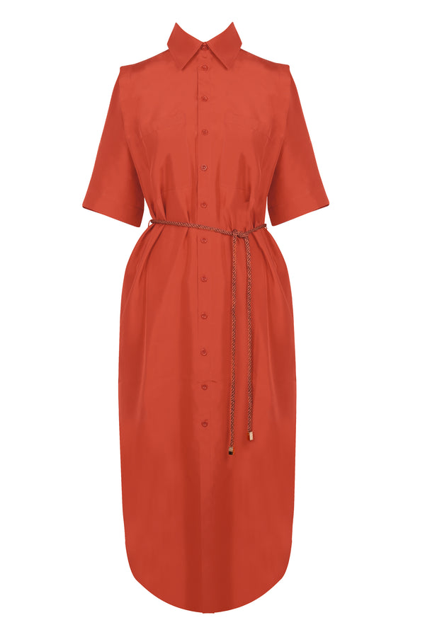 Temperate Shirt Dress