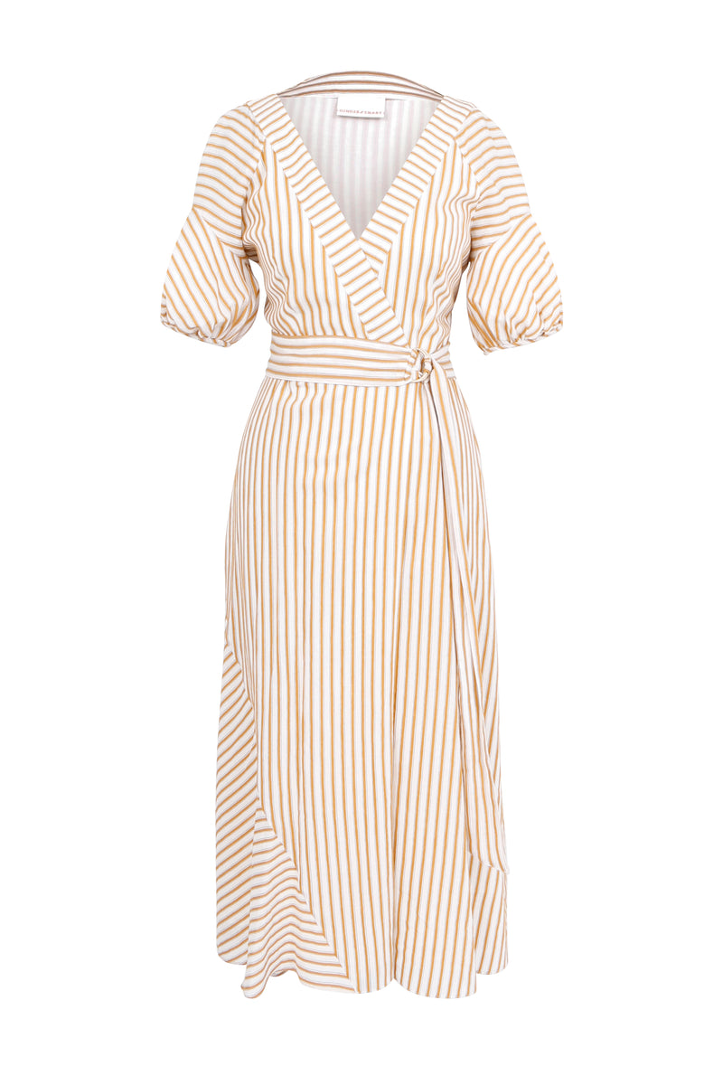 Awakening Wrap Dress
