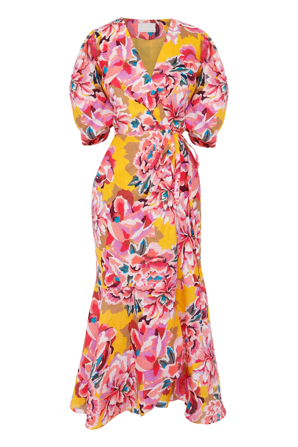 Flourish Wrap Dress