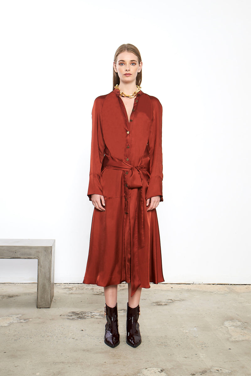 Sonorous Shirt Dress