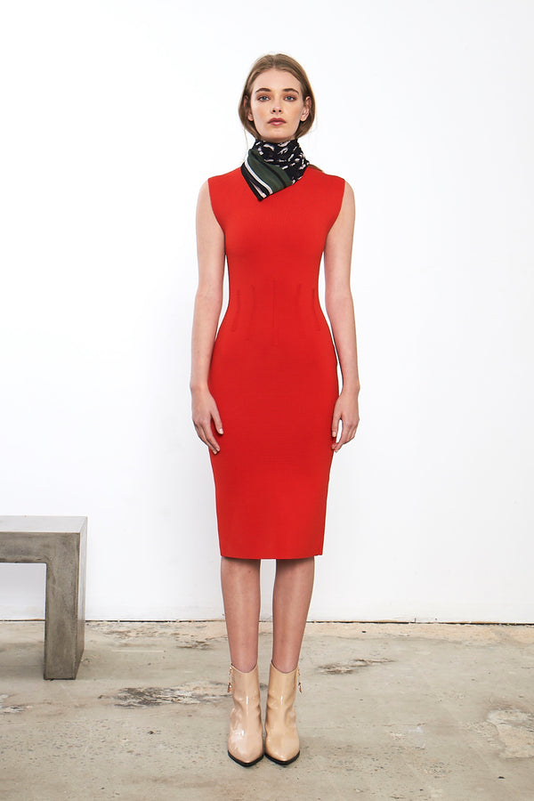 Valour Fitted Knit Dress