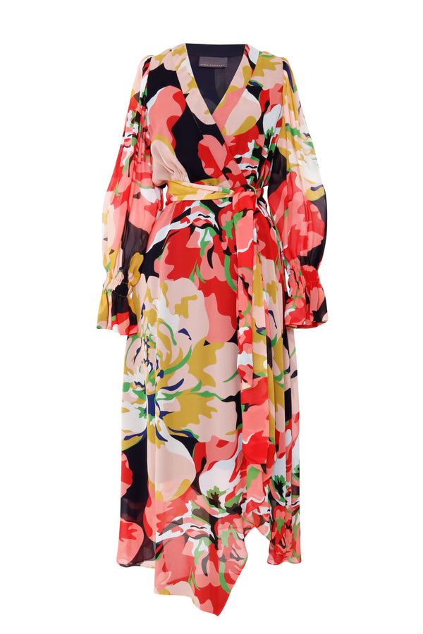 Delirium Wrap Dress