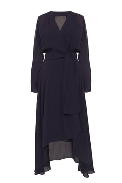 Edition #1 Sleeve Wrap Dress